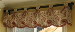 короткие шторы на петлях