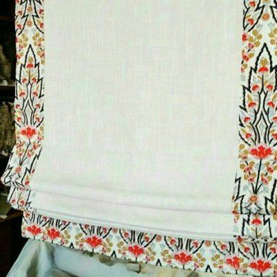 римская штора узор