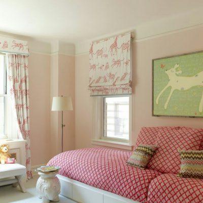 римская штора в детскую комнату