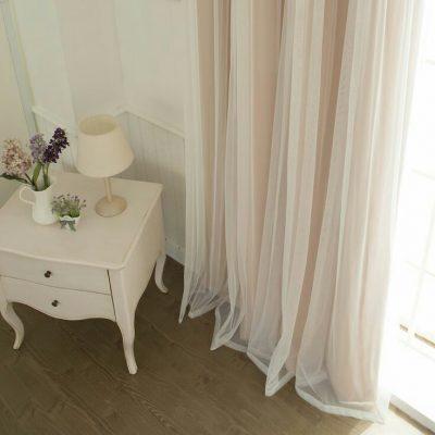 комплект тюль и шторы
