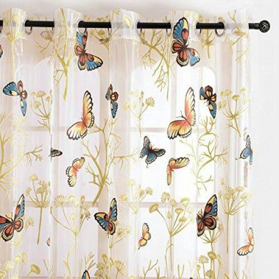 тюль бабочки
