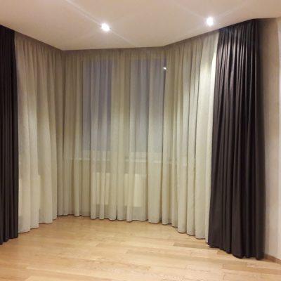 комплект штор для гостиной