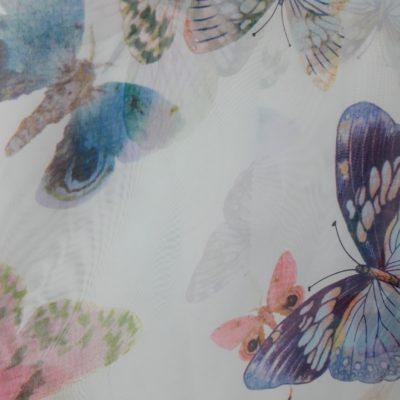 тюль детская бабочка