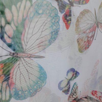 тюль десткая бабочки