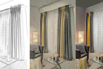 Пошив штор на заказ или магазин – преимущества индивидуального дизайна