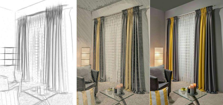Пошив штор на заказ - преимущества индивидуального дизайна