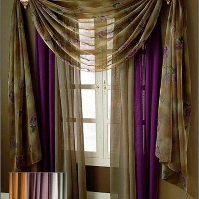 дизайн шторы для гостиной
