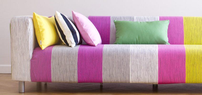 ткань для мебели цветная