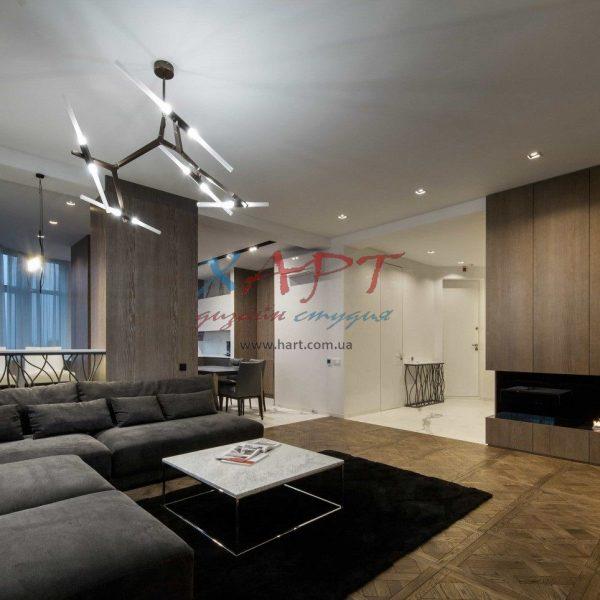 Текстильное оформление квартиры в стиле Фьюжен
