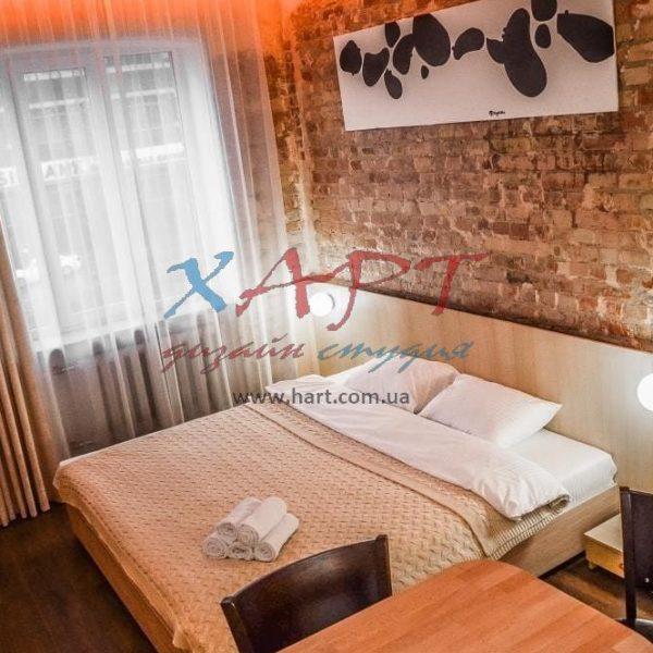 Текстильное оформление — апартаменты в Киеве