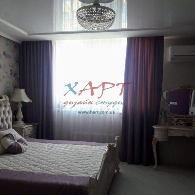шторы и тюль в спальню